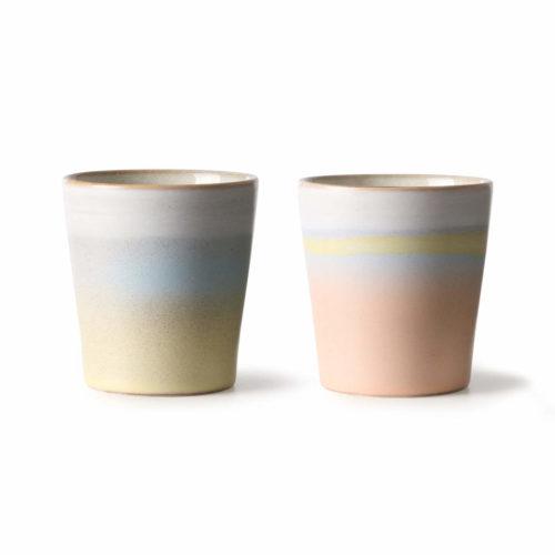 Ceramic 70s Mugs Horizon