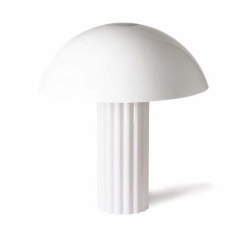 Lampe de table Cupola en Acrylic Blanc