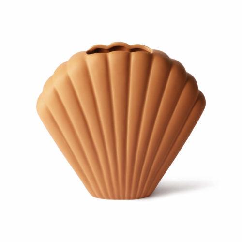 Vase Coquillages en Céramique Terra L